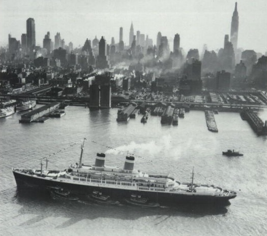 1950s--The SS Independence, a ship my dad took several times.