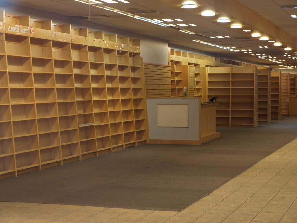 my nightmare...no books anywhere!