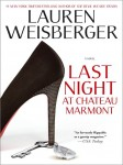 Review: Last Night at Chateau Marmont by Lauren Weisberger