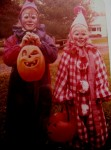 Our mom made those clown costumes--she was like Betsy Ross or something!