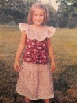 Here I am on July 11, 1979 (going from age 4 to 5)